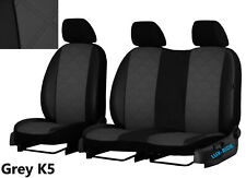 VOLKSWAGEN T5 COMBI 2003-2015 6 SEATS ECO LEATHER EMBOSSED TAILORED SEAT COVERS