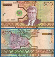 TURKMENISTAN 500 Manat 2005 UNC  P. 19