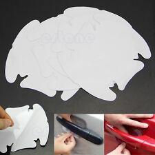 4 Pcs Car Door Wrist Handles Protective Film Vinyl Stickers Transparent New