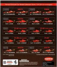 Collezione Ferrari F1 Kit 1:64