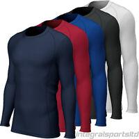 i-sports Base Layer Top Boys Mens Kids Womens Long Sleeve Compression Shirt