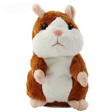 HAPPY The Talking Hamster Plush Toy - Mimics What You Say