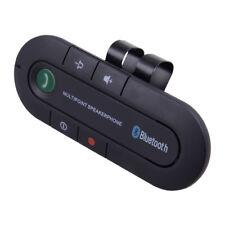 Wireless Bluetooth 4.2 Handsfree Speaker Visor Clip For Smart Phone Mobile Car