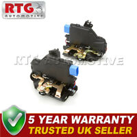 2x Door Lock Actuators Front Fits VW Touareg (Mk1) 2.5 TDi