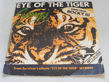 SURVIVOR Eye Of The Tiger   Scotti Brothers 1982 France P/S 7""