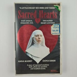 Sacred Hearts VHS Tape 1984 - Anna Massey -Oona Kirsh - TRACKED POST (Ex-Rental)