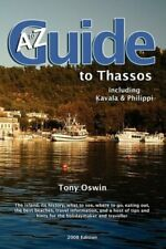 The A-Z Guide to Thassos 2008-Tony Oswin