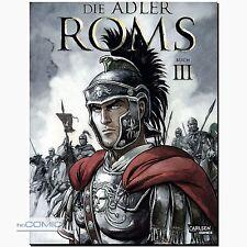 Die Adler Roms Buch 3 römisch germanisch Familien Drama COMIC Marini CARLSEN