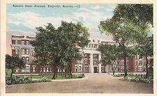 Kansas State Normal School in Emporia KS Postcard