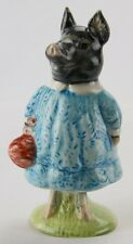 "Beatrix Potter ""Pig-Wig"" BP-3b Beswick Royal Doulton Figurine-Black-NEW IN BOX!!"