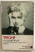 Madonna Burning Up JAPAN CASSETTE TAPE PKF-5423 Holiday Lucky Star Borderline