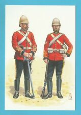 MILITARY  -  ALIX  BAKER  POSTCARD  -  SOLDIERS OF 1ST DRAGOON GUARDS - 1879
