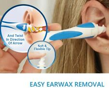 Ear Wax Removal Tool Earwax Cleaner Q-Grips Soft Remover Tool Safe Ear pick UK
