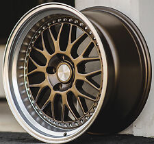 "18"" ESR SR01 Bronze Wheels 18x8.5 5X114.3 +30 For Honda Accord Civic Rims Set 4"
