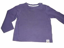Mothercare tolles Langarm Shirt Gr. 68 blau !!