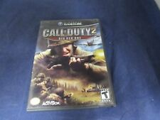 Nintendo GameCube Call of Duty 2 Big Red One 100% scratch free