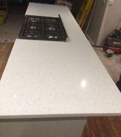 White Carrara Quartz Worktop Sample Kitchen Worktop Granite Marble  1
