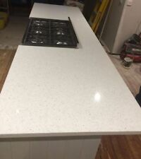 White Carrara Quartz Worktop Sample Kitchen Worktop Granite Marble  1