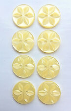Pack of 8 Round Star Buttons in 3 Sizes and 12 Colours