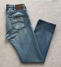 Armani Jeans AJ Mens Regular Fit Straight Leg Indigo 007 Series Blue W32 L34