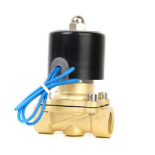 DC 24V 1/2inch Electric Solenoid Valve for Train Water Air Pipeline Fuel Gas
