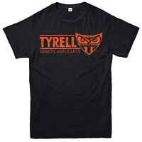 Tyrell Genetic Replicants T-Shirt Blade Runner Top Unisex Adult & Kids Tee Top