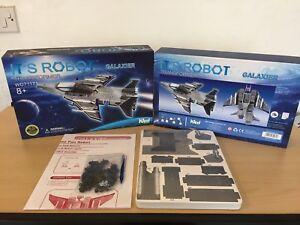 WEST-DESIGNS-ITS ROBOT-GALAXIER -JET FIGHTER PLANE -TRANSFORMER 3D PUZZLE BNIB