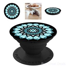 Phone Grip Stand Peace Mandala Sky Novelty Smartphones Tablets Mobile