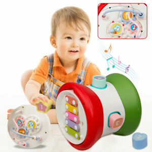 Baby Hand Drum Music Toy Jazz drum Musical Instruments Colourful Light Best Gift