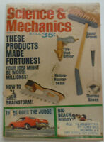 Science & Mechanics Magazine Products That Made Fortunes March 1969 050515R