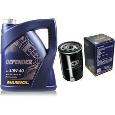 Ölwechsel Set 5 Liter MANNOL Defender 10W-40 + SCT Ölfilter Service 10164114