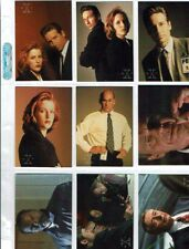 X-Files Series 3 Trading Card Complete Mini-Master Set/Inserts/Wrapper/Promos