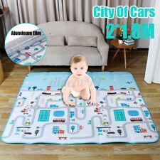 2 X1.8M Non-Slip Baby Carpet Game Mat Pad Crawling Baby Blanket Waterproof  AU