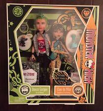 Monster High Deuce Gorgon & Cleo De Nile 2009 Dolls & Accessories,New In Box