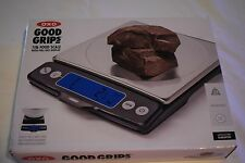 OXO Good Grip 11 Pound Food Scale with Pull Out Display  Stainless Steel 1130800