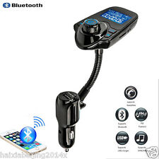 Wireless Bluetooth FM Transmitter Handsfree Car MP3 Player Music Mobile Phone