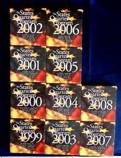 The States Quarter Program Complete Set 1999-2008 Both Denver And Philadelphia