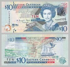 Ostkaribische Staaten / East Caribbean States 10 Dollars 2012 p52 unz.