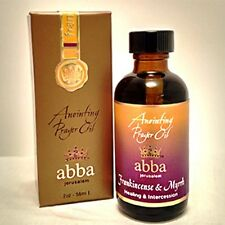 ANOINTING PRAYER OIL Scents 2oz Myrrh,Cassia,Cedar Pure Olive Oil from Holy Land