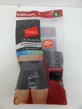 Hanes Ultimate Stretch Boxer Briefs - 2-Pack Size Xl