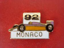 pins pin formule 1 f1 1992 monaco