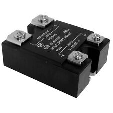 PANEL MOUNT solid state relay SSR 4-32vdc 0-240vac 25A CARICA CON LED ZERO CROSS