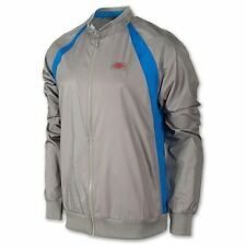 NIKE Men's Jordan AJ1 Muscle Wind Break BREAKER Jacket FZ GREY BLUE 558840 L LG