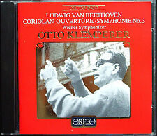 Otto Klemperer: Beethoven Symphony No. 3 eroica Coriolan Overture 1963 Orfeo CD