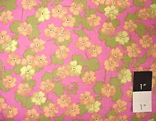 Martha Negley Flower Sprinkles Plum Cotton Fabric By Yd