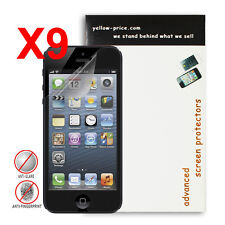 Apple® iPhone® 5 Premium Anti-Glare&Anti-Fingerprint Screen Protector [9-Packs]