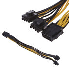 PCI-e Graphics Card GPU 8pin Male to 2x8pin 6 2pin Female Y Splitter power cable