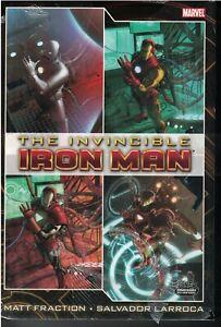 INVINCIBLE IRON MAN Deluxe Edition Vol 1 Matt Fraction Larroca 2010 496pgsNEW NM