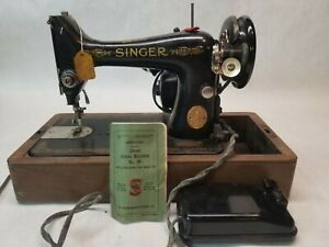 Vintage Singer Sewing Machine 99k