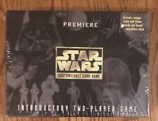 NEW Star Wars Premiere Customizable Card Game Decipher 1995 SEALED